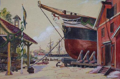 Albertina eller Där byggdes ett skepp uti Norden
